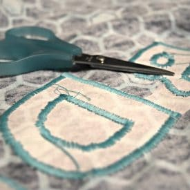 Easy Applique on Your Sewing Machine