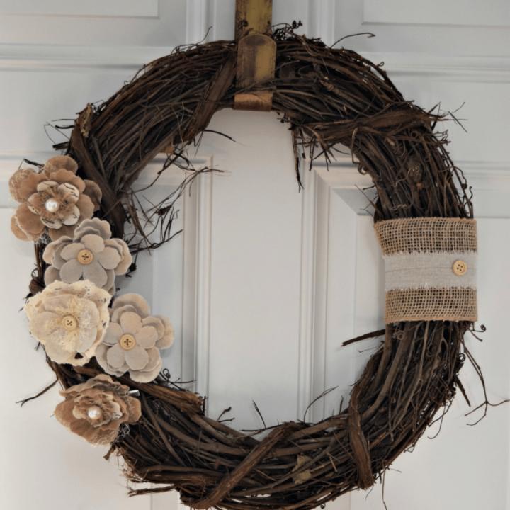 Quick Rustic Wreath