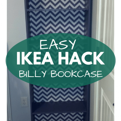 Our IKEA Billy Bookcase Hack