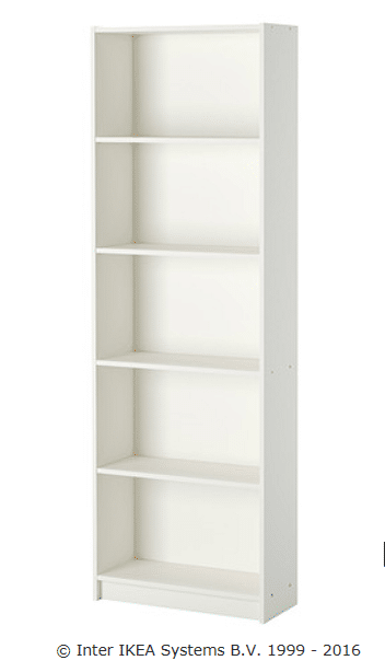 IKEABookcaseBefore