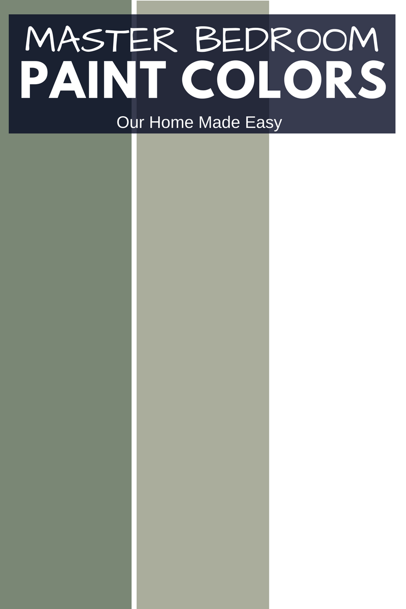 Our master bedroom color scheme recommended by Sherwin Williams consultants.