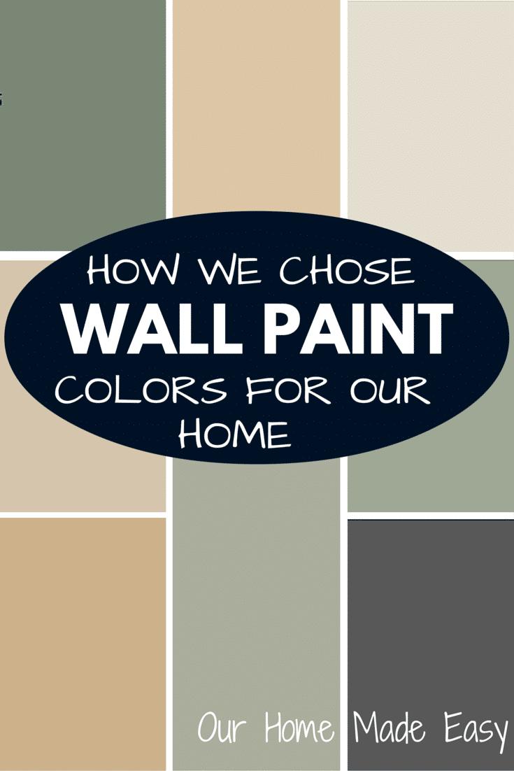 Find a whole house paint color scheme how we did it our for Good paint color for whole house