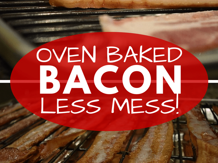 An easy recipe for baking bacon. Less grease, less mess! Excellent for baking large amounts at once (great for groups or families)!