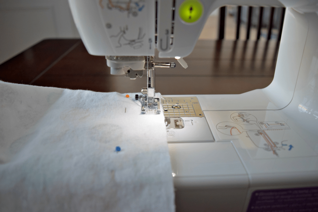 Sewing Flannel Blanket