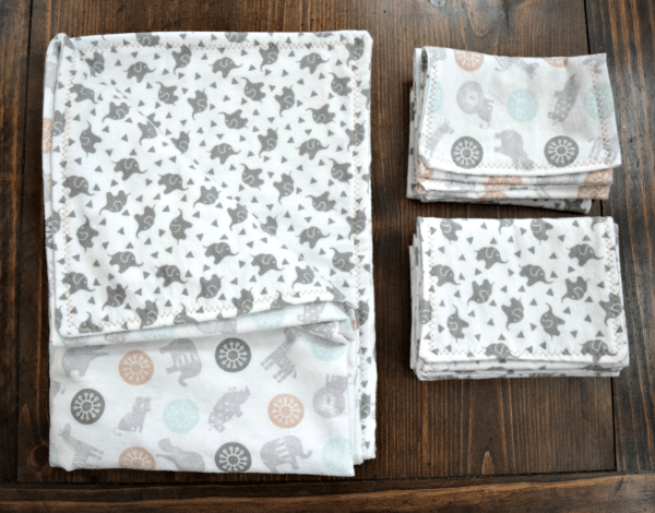 Baby Blanket Burp Cloth