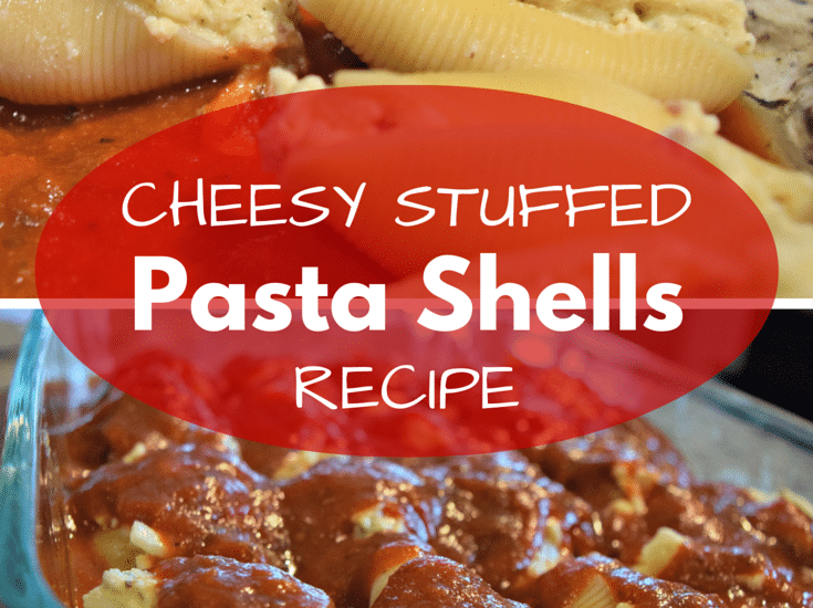 Cheesy Stuffed Pasta Shells