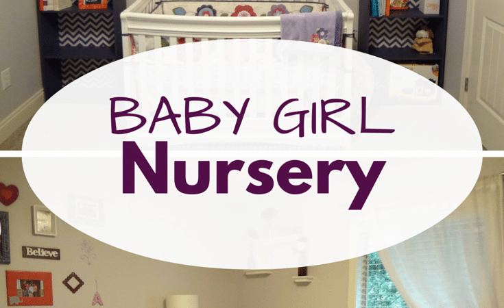 Sweet Purple Baby Girl Nursery