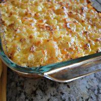 Ham and Cheesy Potato Casserole