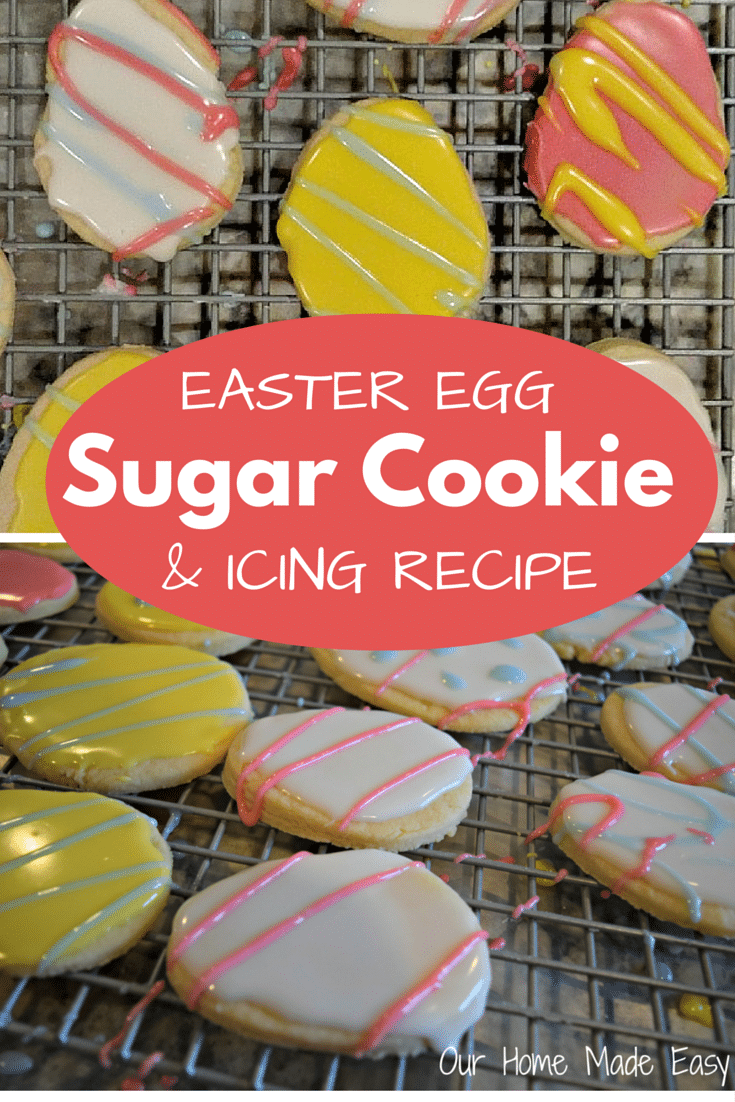 Easter Cut Out Sugar Cookies