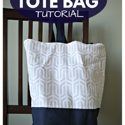 Super Easy & Cute Tote Bag Tutorial