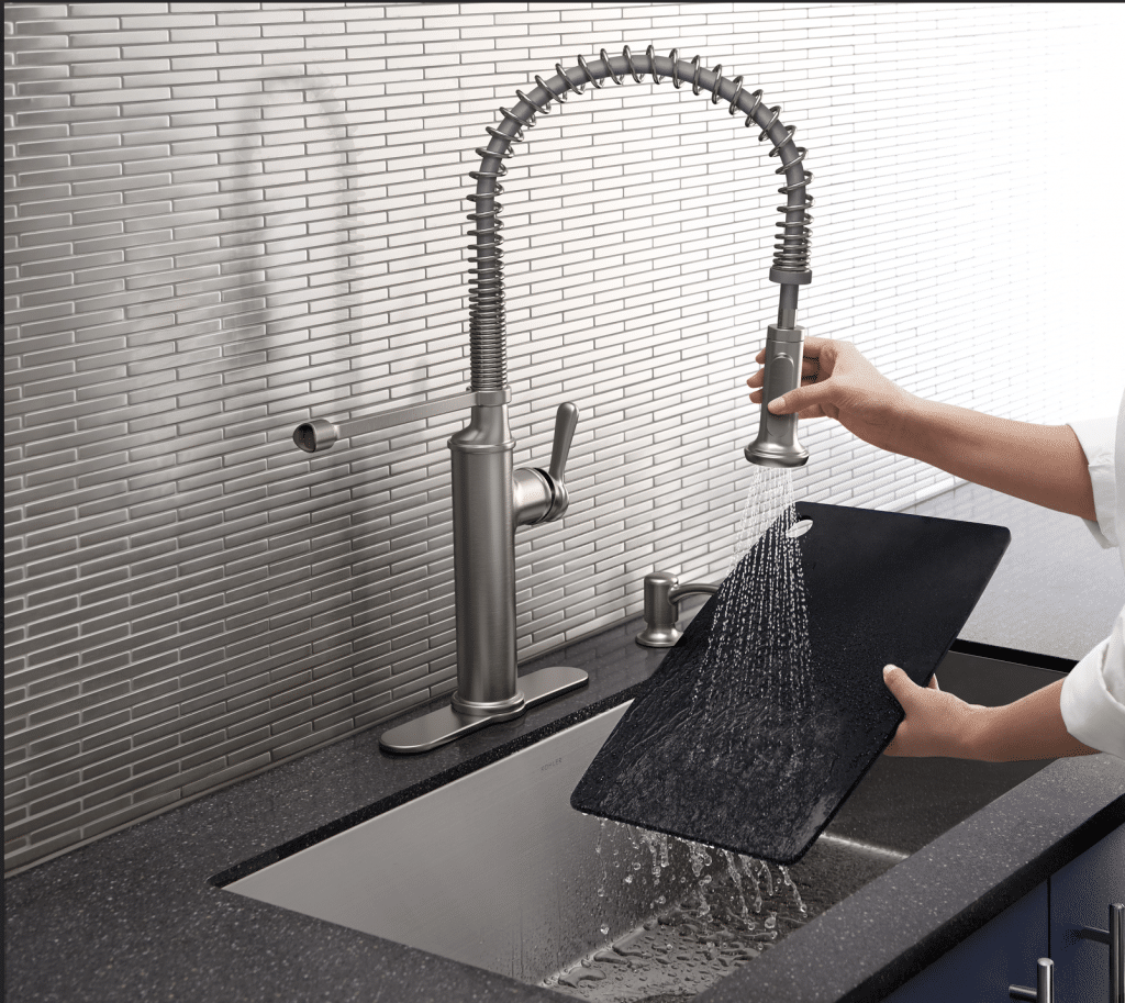 Upgrading Builder S Grade Faucets To Kohler Our Home