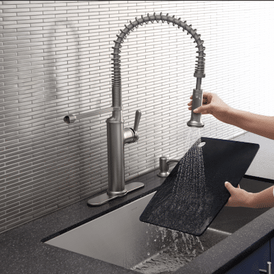 Upgrading Builder's Grade Faucets to Kohler