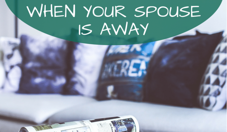 How To Get Out of the House On Time When Your Husband is Traveling