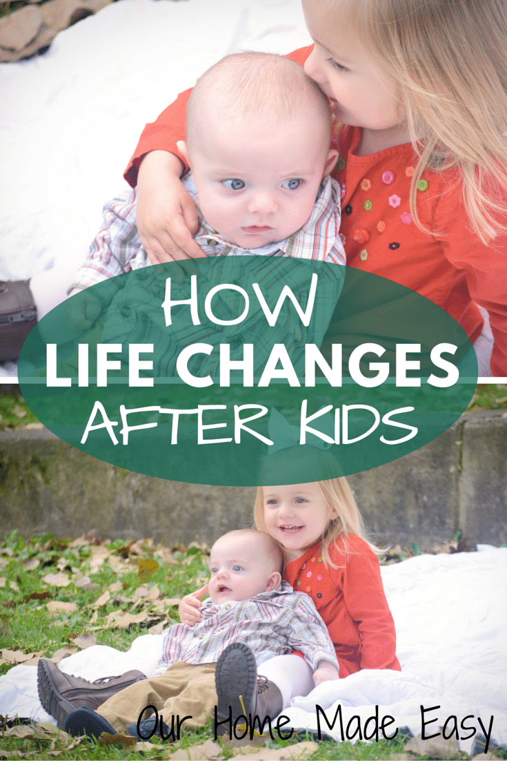Read about How Life Changes after having kids! My experience as shared through the TODAY Show.