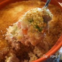 Easy Chicken & Vegetable Quinoa Casserole