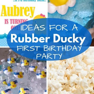 Let's Plan a Party: Rubber Ducky Birthday Party Ideas