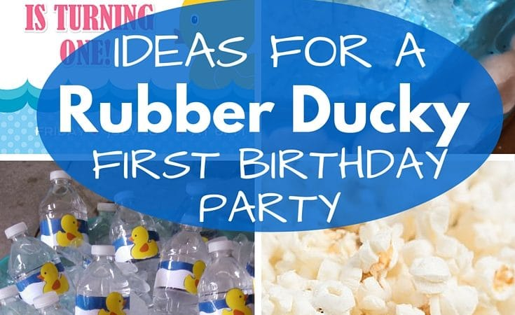 how to plan a simple first birthday party