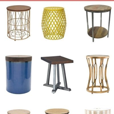 19 Living Room End Tables Under $100