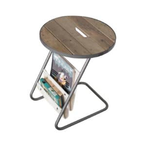 The Aesops Table is perfect for additional magazine storage