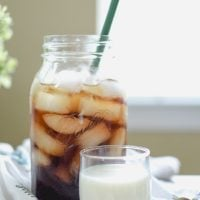 Simple Overnight Iced Coffee