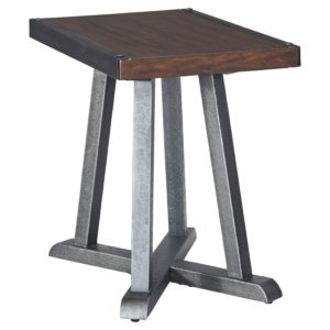This Rowan End Table is a functional and stylish accent table for your living room