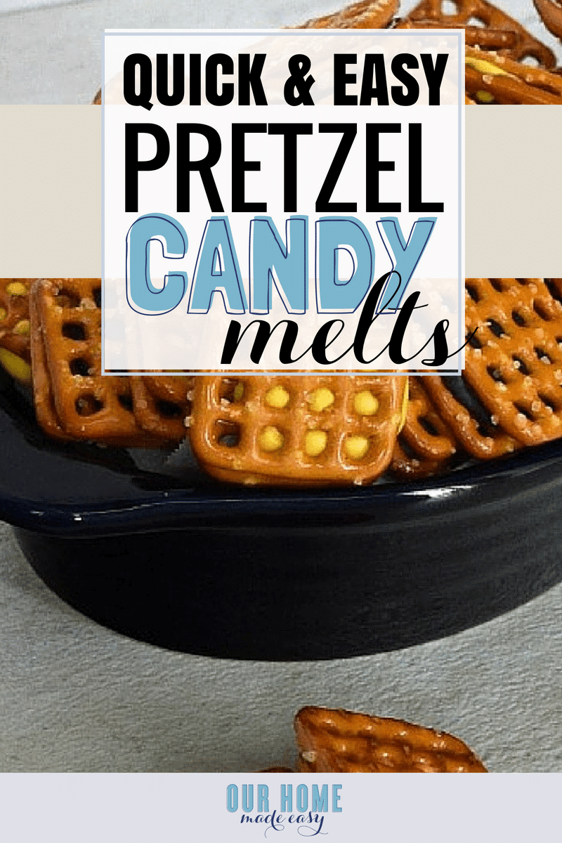Quick & Easy Pretzel snacks for those who love salty and sweet! Click to see the recipe!