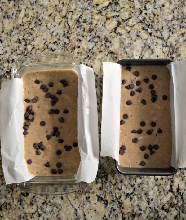 The perfect recipe for zucchini bread! Its has yummy chocolate and it is FULL of moisture and so easy to make. Click to see how it's made!