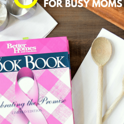 The 5 Best Cookbooks for Busy Moms ( & Dads!)