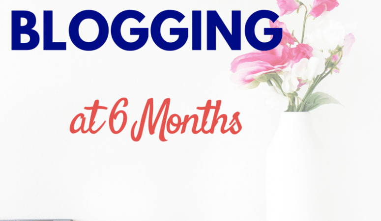 It's My 6 Month Blog Anniversary! (and Giveaway)