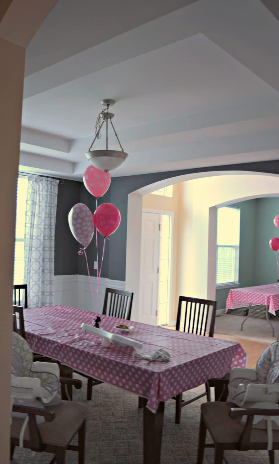 Minnie Mouse Birthday Party Ideas See How We Used At Our Little Girls