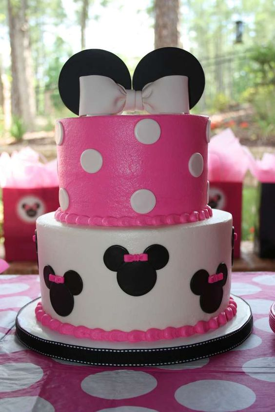 Peachy Minnie Mouse Birthday Party Our Home Made Easy Funny Birthday Cards Online Alyptdamsfinfo