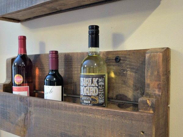 The Quick & Practically Free Pallet Wine Rack [Super Easy!]