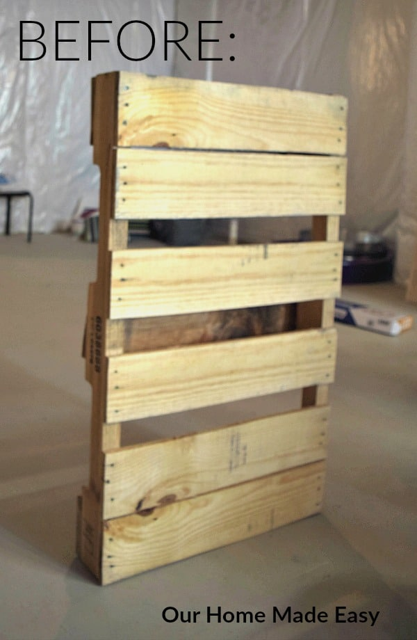 The Quick Amp Practically Free Pallet Wine Rack Super Easy Our Home Made Easy