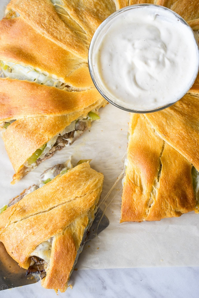 Philly-Cheesesteak-Crescent-Ring-9