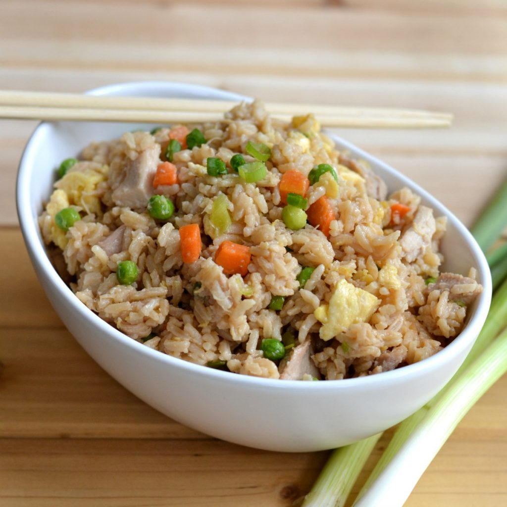 Easy fried rice is quicker and healthier than takeout