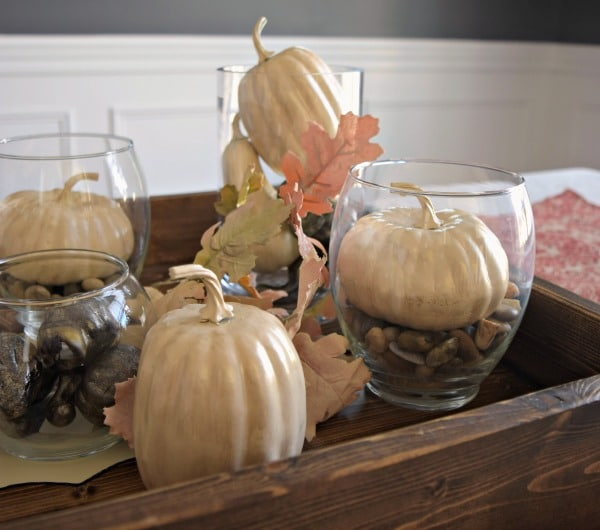 1-Hour Fall Craft Ideas: A Pottery Barn Pumpkin Filler Hack. Make these for less than a dollar apiece!