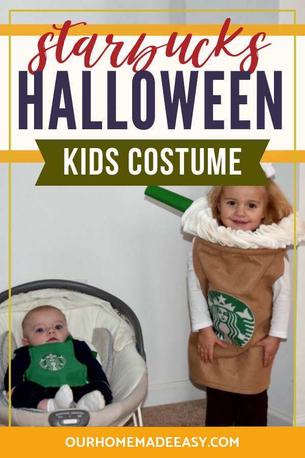 starbucks kids halloween costume