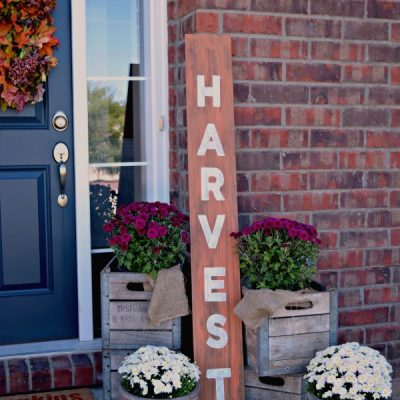 Harvest DIY Wood Fall Sign