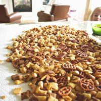 Yummy Chex Mix Snack Recipe