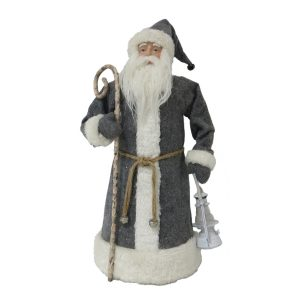 This classic Santa figurine is perfect Christmas decor