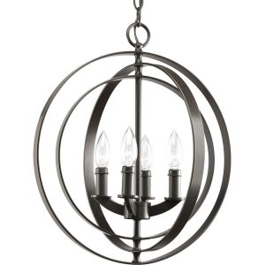 antique bronze globe foyer chandelier from Lowes
