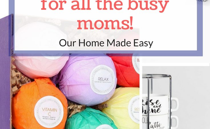 Gift Guide: 10 Great Ideas for Super Busy Moms!