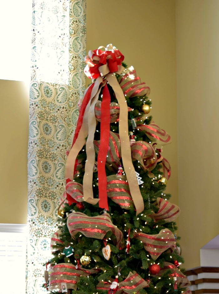 Our 12 Foot Tree is up and the kids are excited. Click to see the tree!