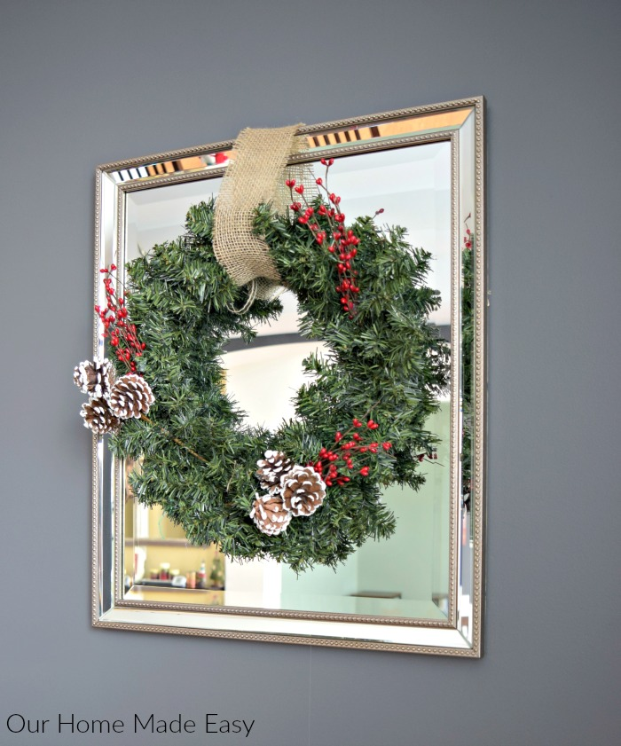 These super easy DIY Christmas wreaths are the perfect way to spruce up your home for Christmas