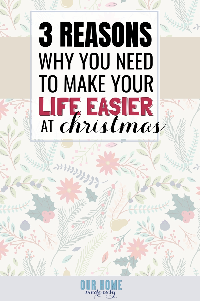 How to Make Christmas Stress Free #christmas #parenting