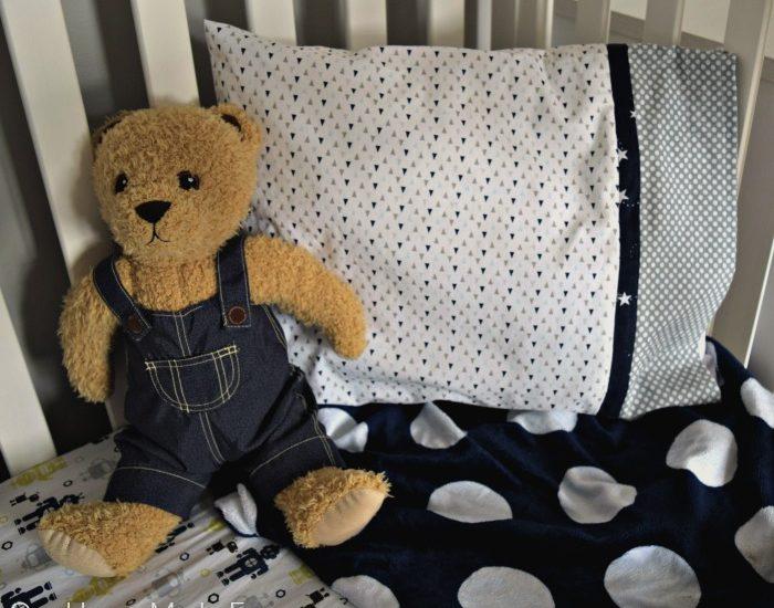 Easy DIY Toddler Pillowcase