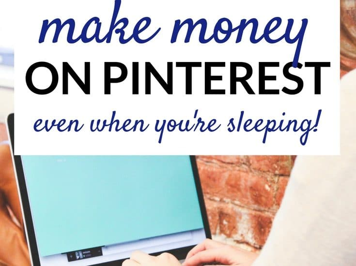 How to make money on Pinterest! Includes step by step tutorial.