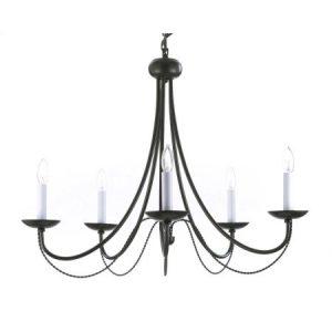 classic candelabra style foyer chandelier