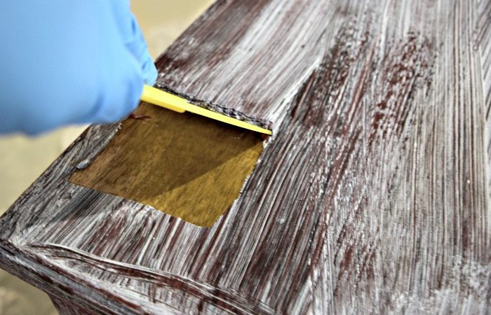 How to remove paint and varnish from wood furniture. How to Easily Remove Paint   Varnish from Old Furniture    Our