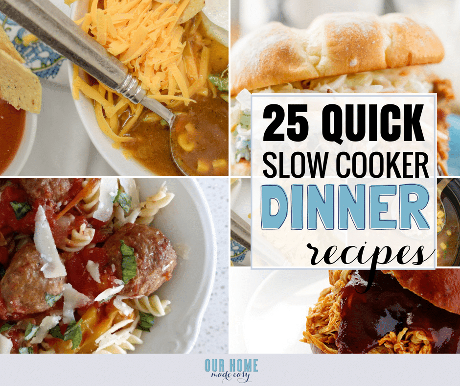 25 Easy Slow Cooker Recipes For Busy Families